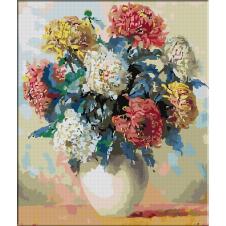 2553.Pot chrysanthemums