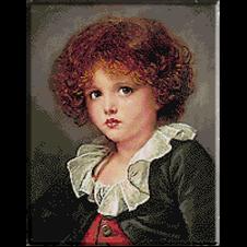 2554.Jean Baptiste Greuze-Fiú piros mellény
