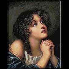 2555.Jean Baptiste Greuze.molitva