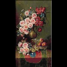 2566.Max Carlier-vaza sa ruže