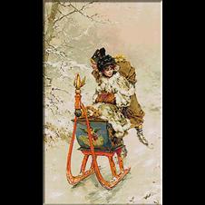 2582.Frederick Hendrik Kaemmerer-Sleigh ride