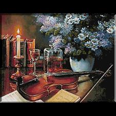 natura statica vioara