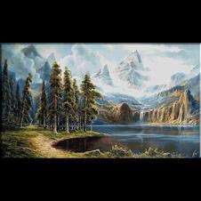 2608.Pejzaž s planine