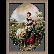 2629.Johann-Baptist-Hofner pásztorlány