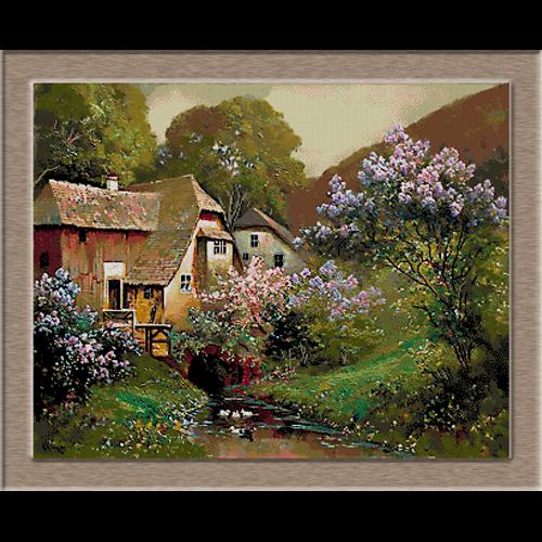 2634.Alois Arnegger-Люляк цветя