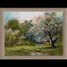 2635.Alois Arnegger-цъфтящи дървета