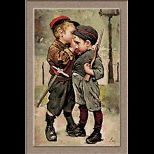 Geoffroy goblen cu copii