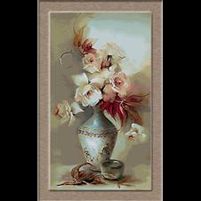 flori-vas de portelan
