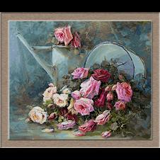 2658.R. Masson Benoit-Pink roses