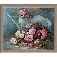 2658.R. Masson Benoit-розови рози