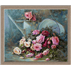 trandafiri roz-goblen