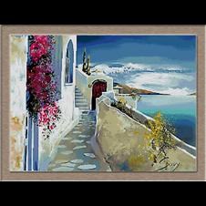peisaj santorini