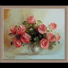 2660 Поезия с рози