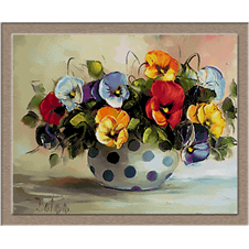 2662 vase with flowers