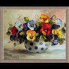 goblen flori-panselute