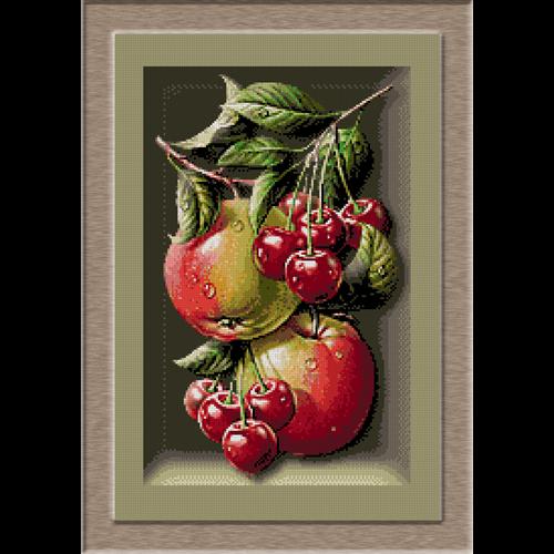 2672.Cristina-Az alma és a cseresznye