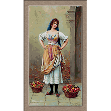 2679.Eugene de Blaas-Gyümölcs eladó