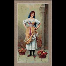 2679.Eugene de Blaas-Prodavač voća