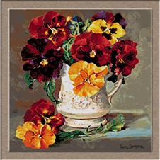 2689.porcelán váza