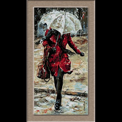 2690.Пешеходна през дъжда