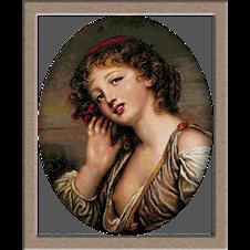 2706.Greuze-портрет