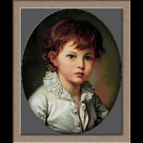 2707.Greuze-Портретът на граф Струганов