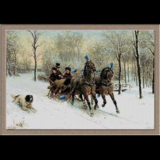 2710.Otto Eerelman-Sleigh ride