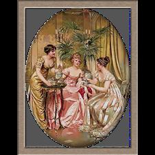 2745.Soulacroix-Чай в пет часа