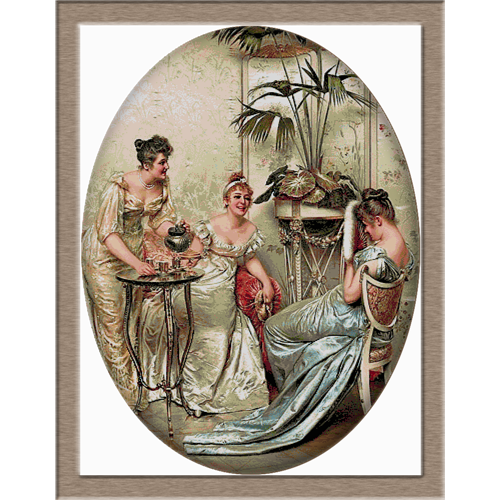 2746.Soulacroix-Чай в 11 часа