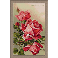 2756.Klein-Pink roze
