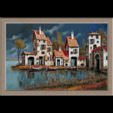 2758 Selo na jezeru