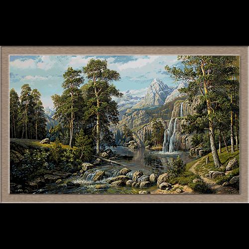 lac in munti