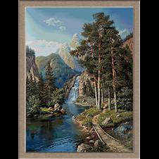 Cascada-peisaj