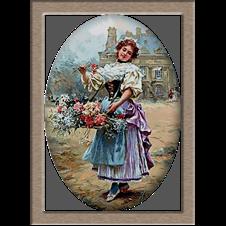 2779.Louis Marie de Schryver-Devojka sa cveжem