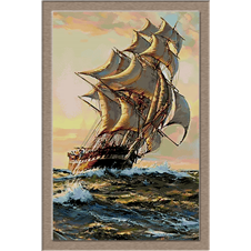 2783.Montague Dawson-Naplemente navigáció