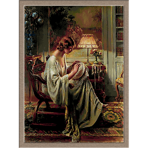 2788.Delphin Enjolras-Embroidery