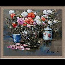 2794.Váza virágokkal