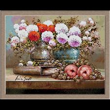 2795.Цветя и ябълки