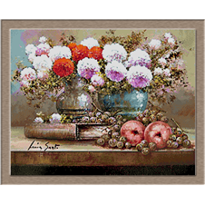 2795.Flowers and apples