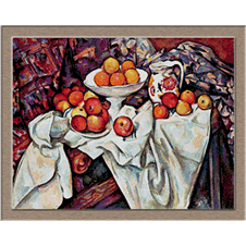 2797.Paul Cézanne-Apple painting