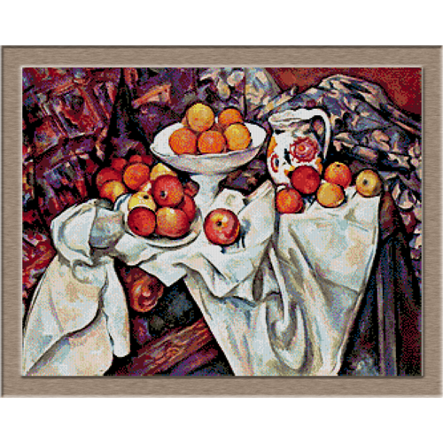 2797.Paul Cézanne-Alma festés