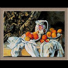 2798.Paul Cézanne-Kép a narancs és a citrom