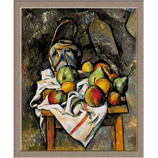 2799.Paul Cézanne-Picture of apples and pears