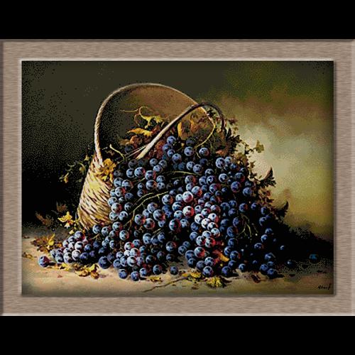 2800-Kosár szőlővel