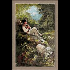 2816.N.Grigorescu-Песента на овчаря