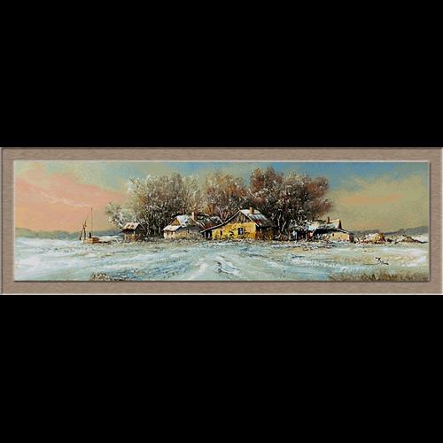 2824.Зима в равнината
