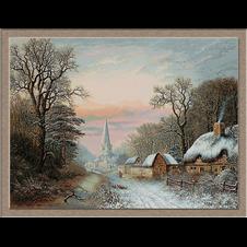 2825.Charles Leaver-Zima u selu