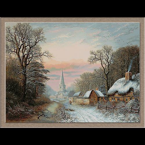 2825.Charles Leaver-Зима в селото