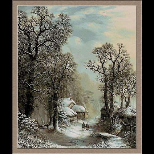 iarna la sat