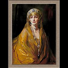 2827.Philip de Laszlo-Румънската кралица Мария